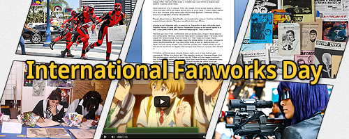 International Fanworks Day - Ania