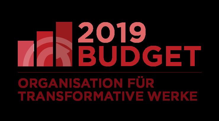 Organisation für Transformative Werke: Budget 2019